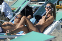 Francesco Pozzessere, Sveva Alviti - Ostia - 15-09-2014 - Sveva Alviti è ormai una habituè del topless
