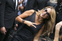 Jo Squillo - Milano - 17-09-2014 - MFW: c'è Kate Moss e la folla va in delirio