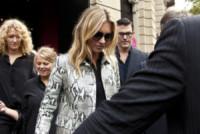 Kate Moss - Milano - 17-09-2014 - MFW: c'è Kate Moss e la folla va in delirio