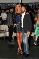 Sebastiano Lombardi, Elenoire Casalegno - Milano - 18-09-2014 - Guendalina Canessa: c'è del feeling con il pappagallo