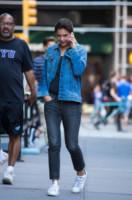 Katie Holmes - New York - 18-09-2014 - Il migliore abbinamento per il jeans? Altro jeans