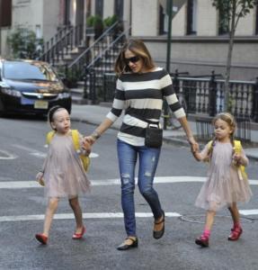 Marion Broderick, Tabitha Broderick, Sarah Jessica Parker - Manhattan - 18-09-2014 - Mamme in carriera: i figli sono la chiave del successo