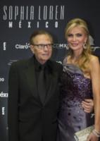 Larry King, Shawn Southwick - Città del Messico - 20-09-2014 - Sophia Loren, ottant'anni leggendari dal sapore latino