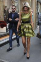 Alessandro Boero, Maddalena Corvaglia - Milano - 22-09-2014 - Le celebrity? Tutte pazze per le righe!