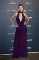 Stefania Rocca - Milano - 22-09-2014 - Viola o arancione? È questo il dilemma… per Halloween!