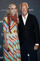 Franca Sozzani, Giorgio Armani - Milano - 22-09-2014 - Sarà presentato a Venezia il film sulla vita di Franca Sozzani
