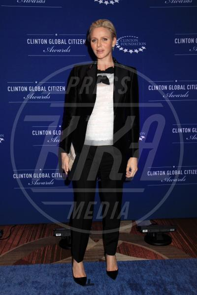 Principessa Charlene Wittstock - New York - 22-09-2014 - Il pancione è sempre più sexy sul red carpet!
