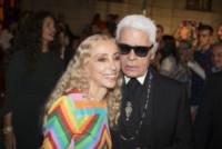 Franca Sozzani, Karl Lagerfeld - Milano - 22-09-2014 - Sarà presentato a Venezia il film sulla vita di Franca Sozzani
