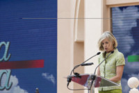 Stefania Giannini - Roma - 22-09-2014 - #tuttiascuola: Giorgio Napolitano riapre le scuole italiane