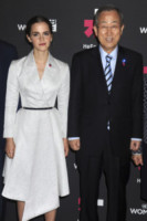 Ban Ki-moon, Emma Watson - New York - 20-09-2014 - Emma Watson, attaccata dagli hacker, difende le donne all'Onu