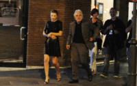 Cristina Chiriac, Abel Ferrara - Roma - 24-09-2014 - Riccardo Scamarcio corteggia i grandi del cinema Usa