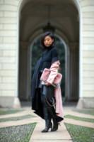 Margareth Zhang - Milano - 20-02-2014 - Inverno grigio? Rendilo romantico vestendoti di rosa!