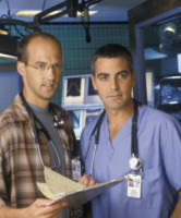 Anthony Edwards, George Clooney - Hollywood - 26-09-2014 - ER compie vent'anni: ecco com'è cambiato il cast