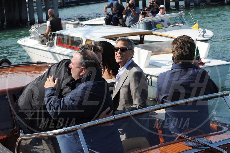 Rande Gerber, George Clooney - Venezia - 26-09-2014 - George Clooney e Amal in laguna: che la festa abbia inizio!