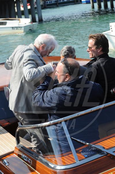 Amal Alamuddin, Nick Clooney, George Clooney - Venezia - 26-09-2014 - George Clooney e Amal in laguna: che la festa abbia inizio!