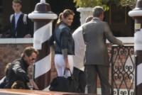 Amal Alamuddin, Rande Gerber, Cindy Crawford, George Clooney - Venezia - 26-09-2014 - Matrimonio Clooney-Amal: l'arrivo al Cipriani
