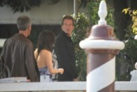 Rande Gerber - Venezia - 26-09-2014 - Matrimonio Clooney-Amal: l'arrivo al Cipriani