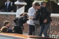 Nina Bruce, Rande Gerber, George Clooney - Venezia - 26-09-2014 - Matrimonio Clooney-Amal: l'arrivo al Cipriani