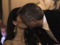 Amal Alamuddin, George Clooney - Firenze - 08-09-2014 - George Clooney pensa alla Casa Bianca
