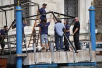 Preparativi nozze George Clooney - Venezia - 27-09-2014 - Venezia si prepara per il matrimonio tra George Clooney e Amal