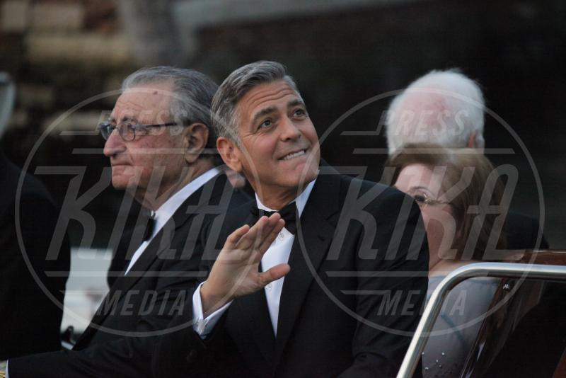 George Clooney - Venezia - 27-09-2014 - Si chiude il sipario: George Clooney è un uomo sposato