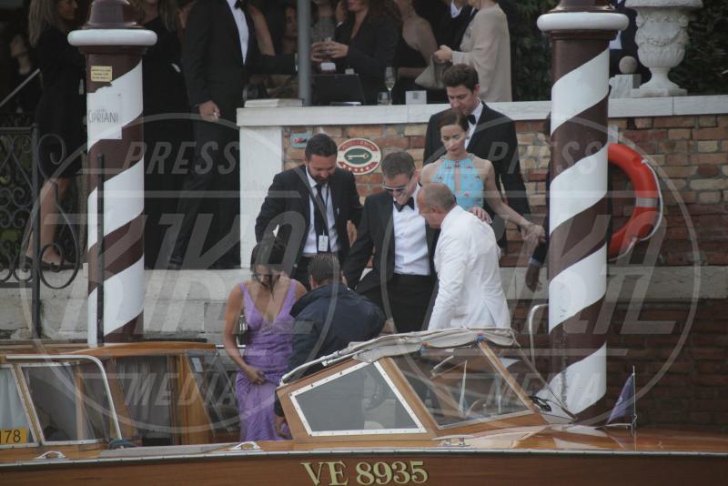 Luciana Barroso, Matt Damon - Venezia - 27-09-2014 - Si chiude il sipario: George Clooney è un uomo sposato