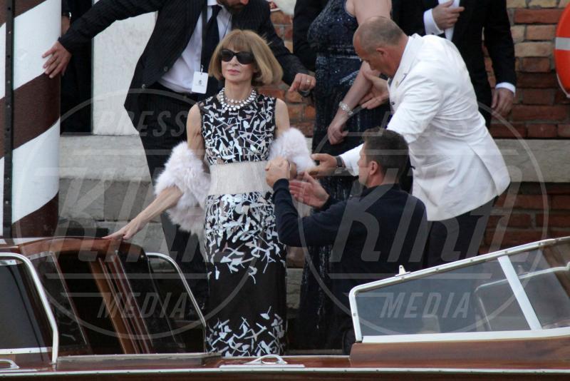 Anna Wintour - Venezia - 27-09-2014 - Si chiude il sipario: George Clooney è un uomo sposato
