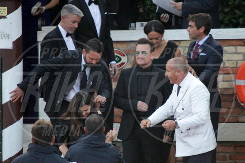 Ali Hewson, Bono - Venezia - 27-09-2014 - Si chiude il sipario: George Clooney è un uomo sposato