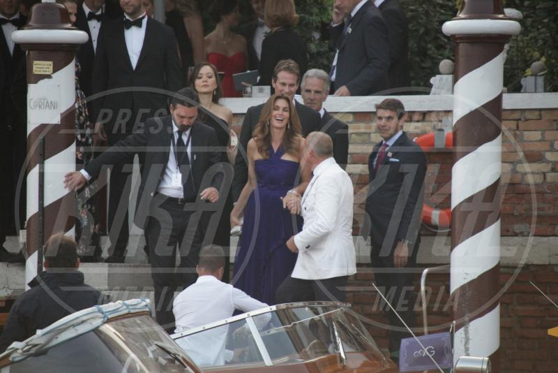 Rande Gerber, Cindy Crawford - Venezia - 27-09-2014 - Si chiude il sipario: George Clooney è un uomo sposato