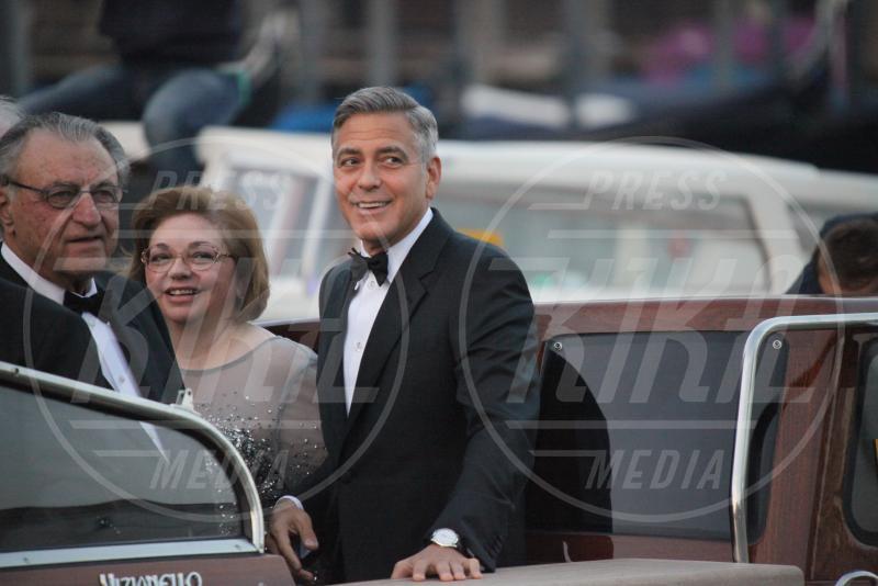 Adelia Zeidler, Nick Clooney, George Clooney - Venezia - 27-09-2014 - Si chiude il sipario: George Clooney è un uomo sposato