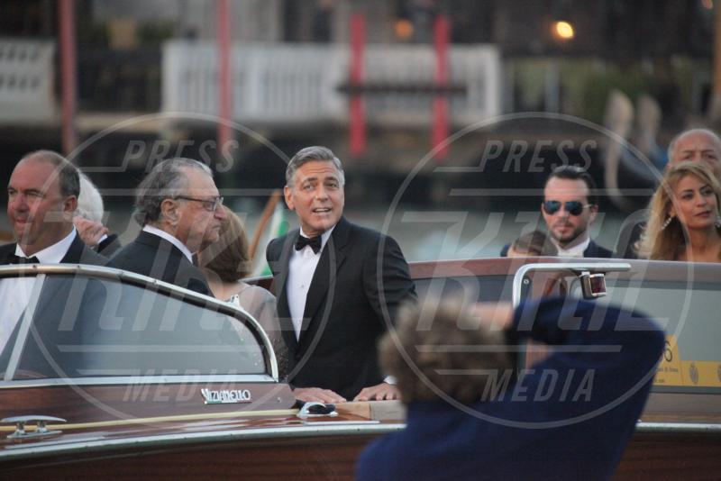 Adelia Zeidler, Nick Clooney, George Clooney - Venezia - 27-09-2014 - Venezia 74: sarà lui a deliziare il palato di George Clooney
