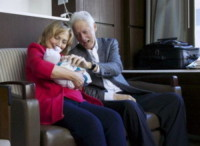 Charlotte Mezvinsky, Hillary Clinton, Bill Clinton - Washington - 28-09-2014 - Hillary Clinton: