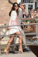 Amal Alamuddin, George Clooney - Venezia - 28-09-2014 - La classe non è acqua: i look migliori del 2014