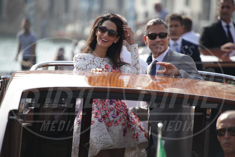 Amal Alamuddin, George Clooney - Venezia - 28-09-2014 - Anche Paciock lo sa: sì lo voglio, ma in Italia!