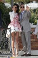 Amal Alamuddin, George Clooney - Venezia - 28-09-2014 - Mini o longuette, ma pieno di fiori: è l'abito della primavera!