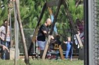 Claudio Nigro, Olivia Nigro, Filippo Nigro - Roma - 27-09-2014 - Star come noi: amore, vieni che ti porto al parco!