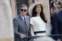Amal Alamuddin, George Clooney - Venezia - 29-09-2014 - George Clooney pensa alla Casa Bianca