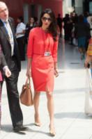 Amal Alamuddin - Londra - 12-06-2014 - Amal Clooney si è lasciata il sorriso alle spalle...