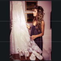 Elisabetta Canalis - Alghero - 01-10-2014 - Amal e George: Hello! e People svelano l'abito della sposa