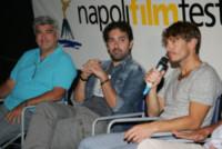 Antonio Milo, Francesco Prisco, Giorgio Pasotti - Napoli - 01-10-2014 - Giorgio Pasotti incontra i fan al Napoli Film Festival