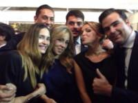 Rudy Cavagnoli, Francesca Pascale, Noemi Letizia - Roma - 01-10-2014 - Francesca Pascale: