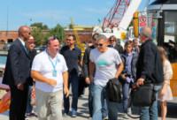 Alessandro Greco, George Clooney - Venezia - 01-10-2014 - Sandrone, motoscafista dei VIP e testimone di George Clooney