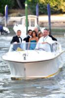 Alessandro Greco, Elisabetta Canalis, George Clooney - Venezia - 01-10-2014 - Sandrone, motoscafista dei VIP e testimone di George Clooney