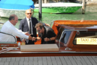 Alessandro Greco, Al Pacino - Venezia - 01-10-2014 - Sandrone, motoscafista dei VIP e testimone di George Clooney