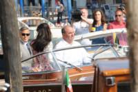 Amal Alamuddin, Alessandro Greco, George Clooney - Venezia - 01-10-2014 - Sandrone, motoscafista dei VIP e testimone di George Clooney