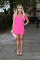 Georgia Kousoulou - Londra - 23-04-2014 - La rivincita delle bionde in rosa shocking: le vip sono Barbie!