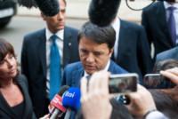 "Matteo Renzi - Londra - 02-10-2014 - Matteo Renzi a Londra: ""Io sto con Hollande, basta austerity"""
