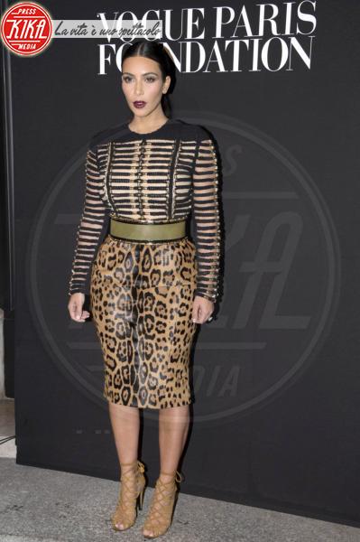 Kim Kardashian - Parigi - 09-07-2014 - Il leopardo non si ammaestra, si indossa