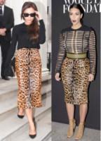 Kim Kardashian, Victoria Beckham - 03-10-2014 - Victoria Beckham e Kim Kardashian: chi lo indossa meglio?