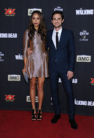 Andrew J. West, Amber Stevens - Universal City - 02-10-2014 - The Walking Dead presenta la quinta stagione